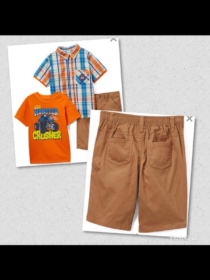 Boyz wear 3 piece set