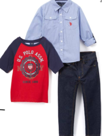 U•S polo assn 3 piece set