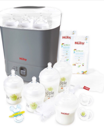 Nuby Natural Touch Complete Starter Set.